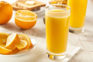 Orange juice acids